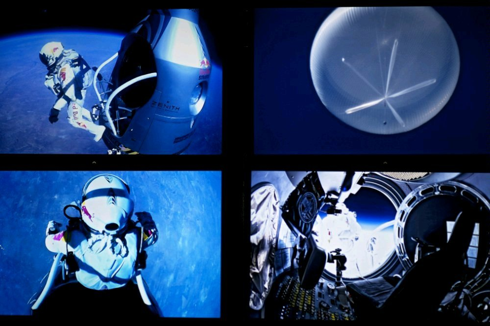Red Bull Stratos - Action in 39.000m (Foto: Red Bull)