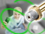 Osram denkt an Piko - grüner Laser des Herstellers (Osram)