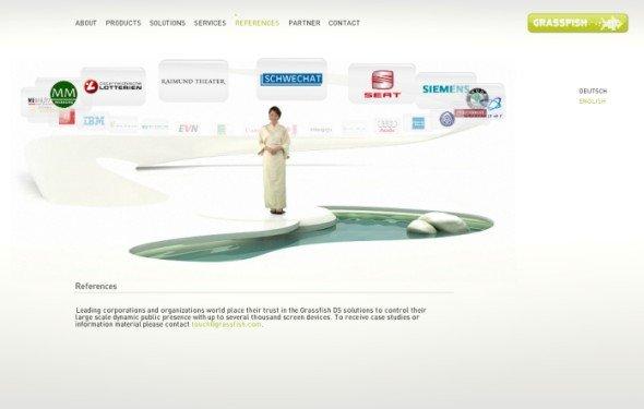 Grassfish-Website (Screenshot: invidis.de)