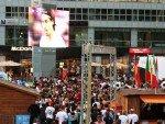 Public Viewing am MetaTwistTower (Foto: 3M GTG)