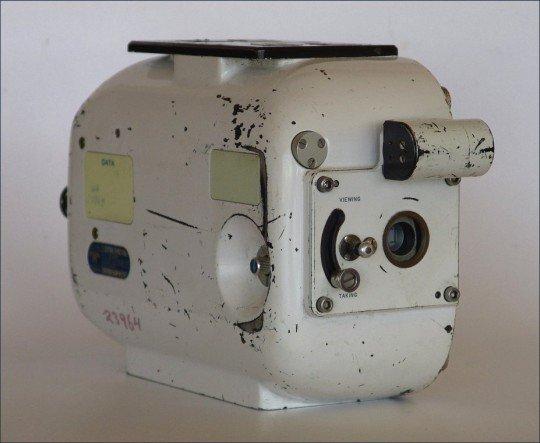 Diese Milliken 16mm-Kamera kam gestern nicht zum Einsatz - war aber möglicherweise Kilometer oberhalb der Atmosphäre im Einsatz (Foto: Cameratique.com)