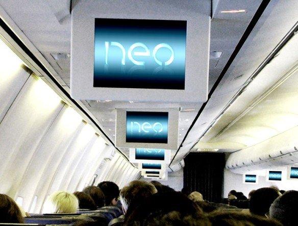 Beim Sitzplatz bleibt es beim Alten - aber Werbeplätze im TUI-Flugzeug werden über Neo gebucht - (Foto: Neo Advertising)