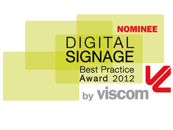 Die Nominierten des 6. Digital Signage Best Practice Awards
