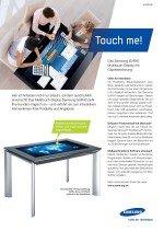 invidis Jahrbuch Digital Signage Anzeige Samsung