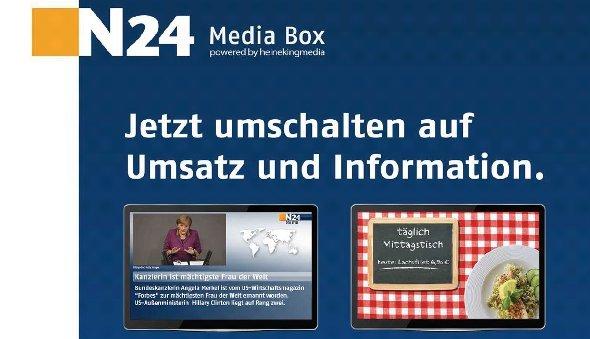 N24 Mediabox von Heinekingmedia