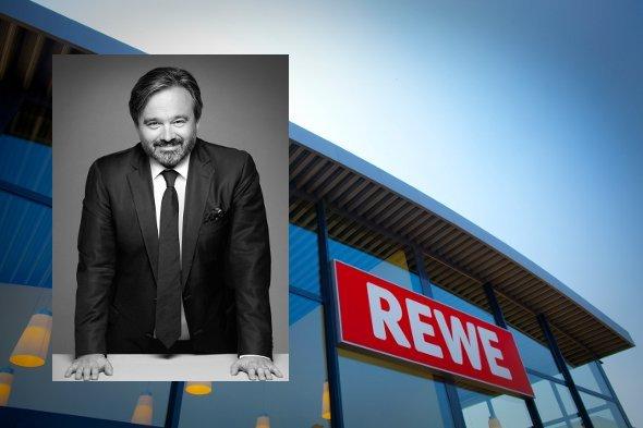 Rewe Chef Alain Caparros sieht Instore Werbung Potential (Fotos. Rewe)