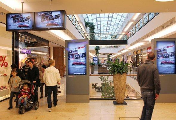 Umsatztreiber Nr.1: Ströer Digital - hier OC Mall