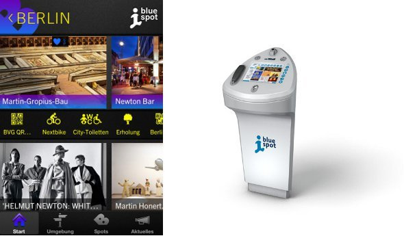 Wall AG - Bluespot App und Terminal