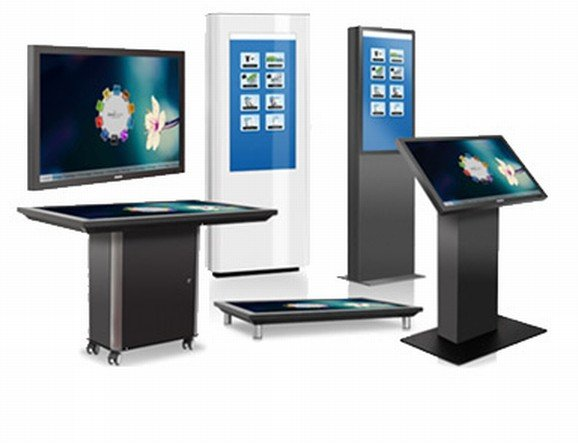 Aktuell mit Software - BDT Multi-Touch-Serie von Philips (Foto: MMD)