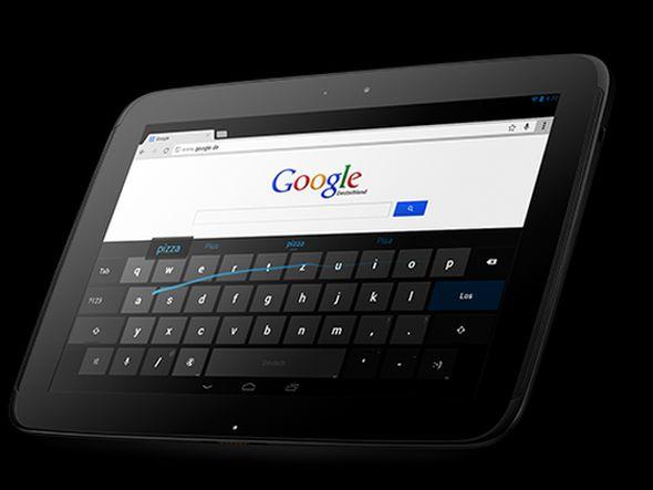 Googles neues Nexus 10 arbeitet mit Technik von Samsung (Foto: Google)