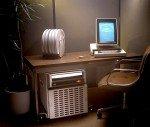 Auch schon fast 40: Palo Alto PC von 1973 mit weltweit erstem WYSIWYG-Editor - und Palme (Foto: PARC)