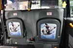 Panasonic-Olympia-Werbung in Londoner Taxi (Foto: Panasonic)