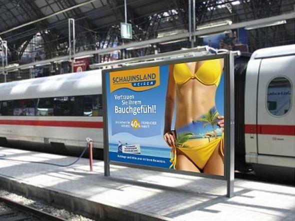 Out of Home-Kampagne für Reisewillige von Schauinsland (Foto: Ströer)