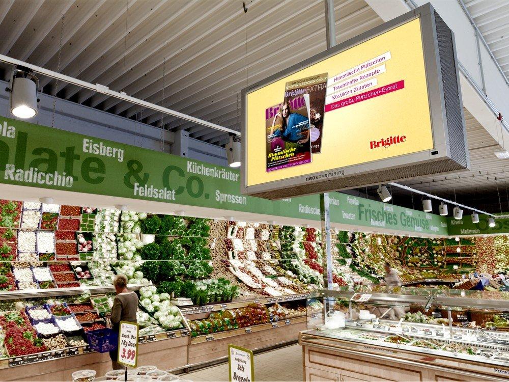 VUKUNET: BRIGITTE-Werbekampagne in EDEKA-Fliialen