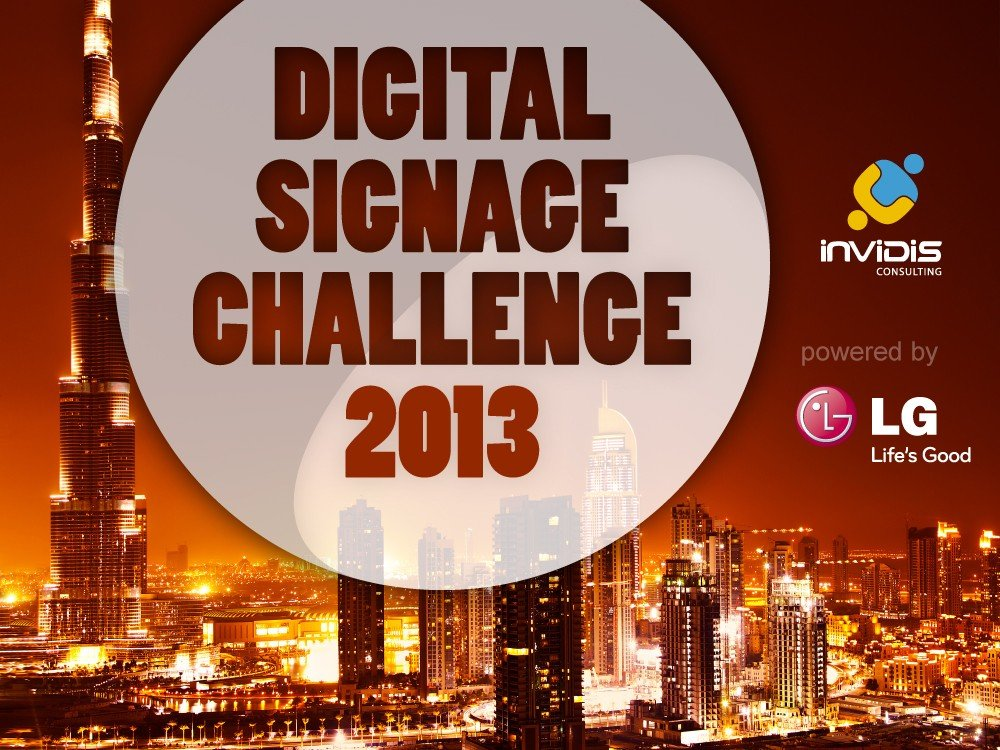 invidis Digital Signage Challenge