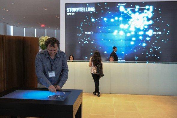 Kunde kauft Agentur - Installation von Second Story für Sapient auf der iEX im September 2012 (Foto: Second Story)