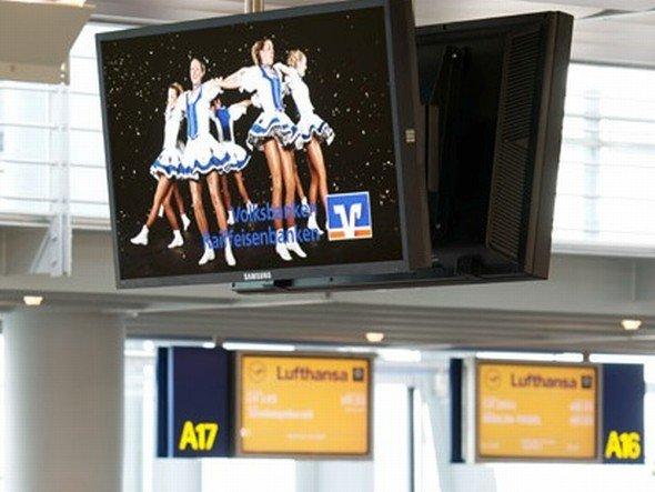 Telekom-Netz an deutschen Airports - Grundpreise erhöhen sich 2013 (Foto: Telekom Out-of-Home Media)