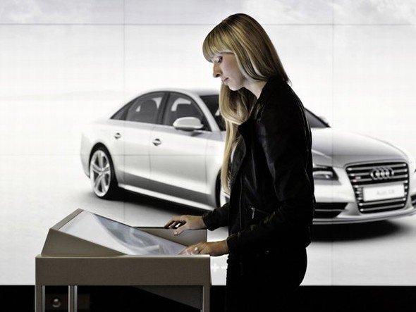Sommer 2012: In London eröffnete Audi seine erste Audi City (Foto: Audi)