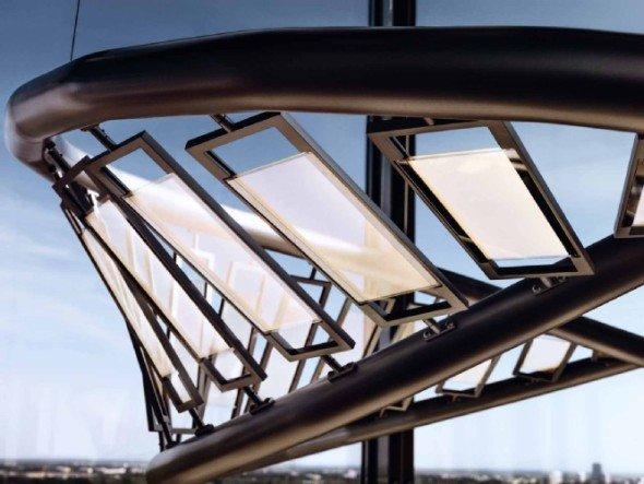 Transparente OLED können für eine bevorzugte Abstrahlseite eingerichtet werden (Foto: Osram)