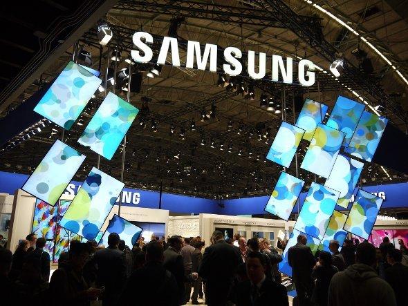 Samsung auf der ISE 2013