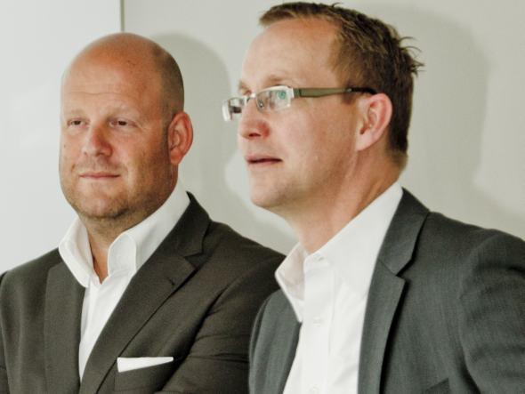 Geschäftsführer Markus J. Deserno und Stefan Knoke konzentrieren sich bei Seen Media stärker auf die Strategie (Foto: Seen Media)