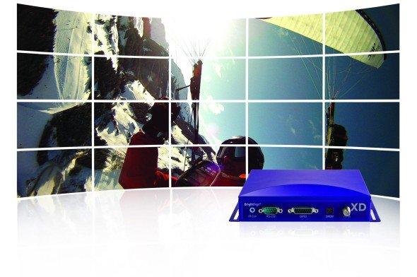 Flagschiff der Serie: Videowand mit BrightSign XD1230 (Foto: BrightSign)