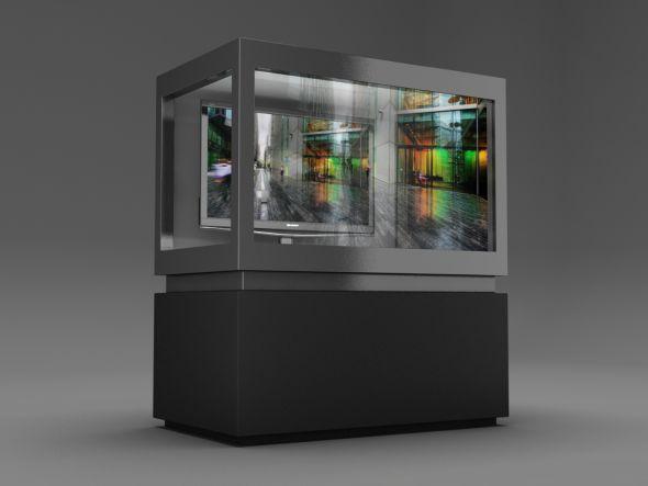 Das neueste und größte transparente LCD-Showcase heißt ClearVue700 (Foto: CDS)