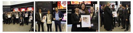 Die Finalisten der invidis / LG Digital Signage Challenge