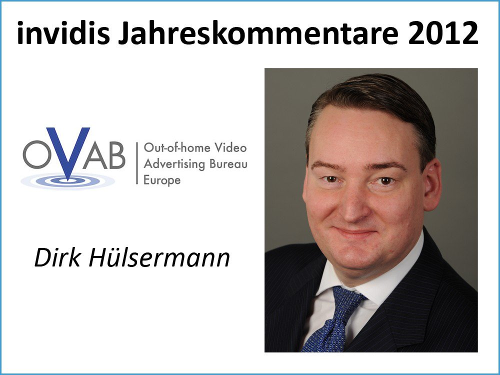 Dirk Hülsermann, Präsident OVAB