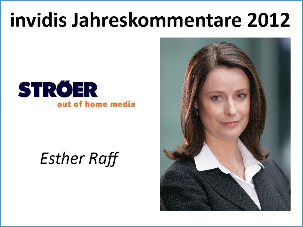 Esther Raff, Geschäftsführerin Marketing und Vertrieb, Ströer Media Deutschland GmbH