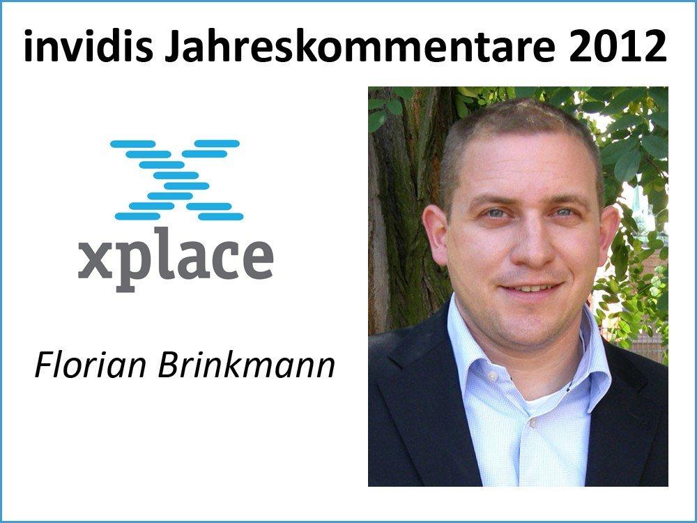 Florian Brinkmann, Geschäftsführer, xplace GmbH