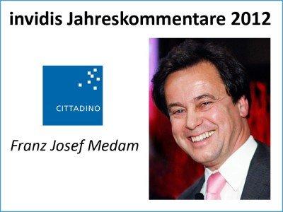 Franz Josef Medam, Geschäftsführer, CITTADINO GmbH