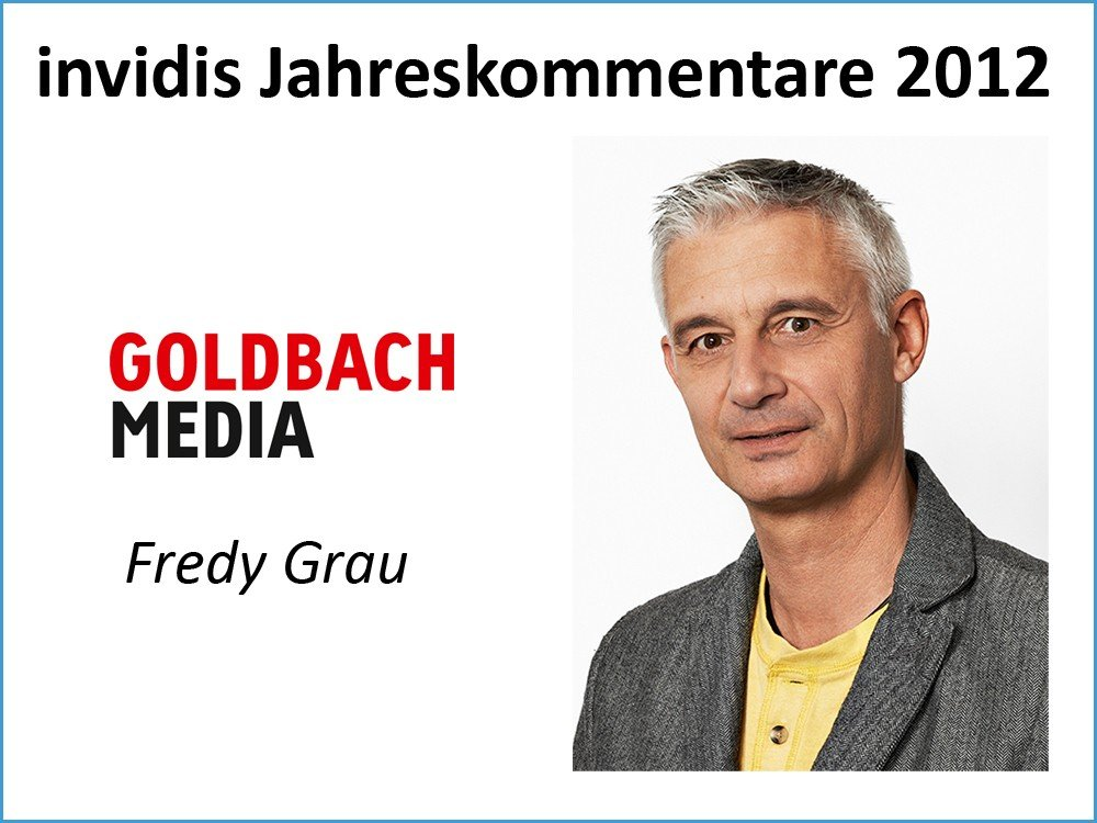 Fredy Grau, Director Business Development, Goldbach Media
