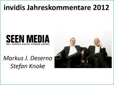 Stefan Knoke / Markus J. Deserno, Seen Media