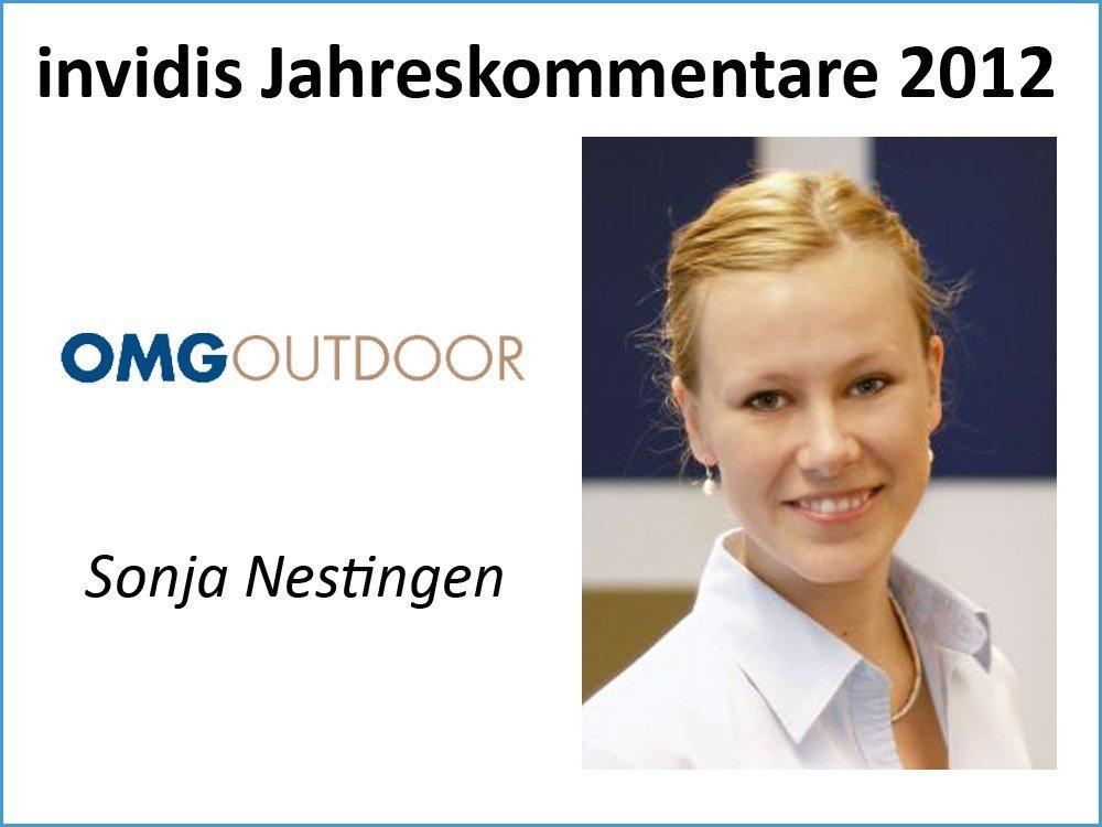 Sonja Nestingen, Digital OOH Media Planning, OMG Outdoor