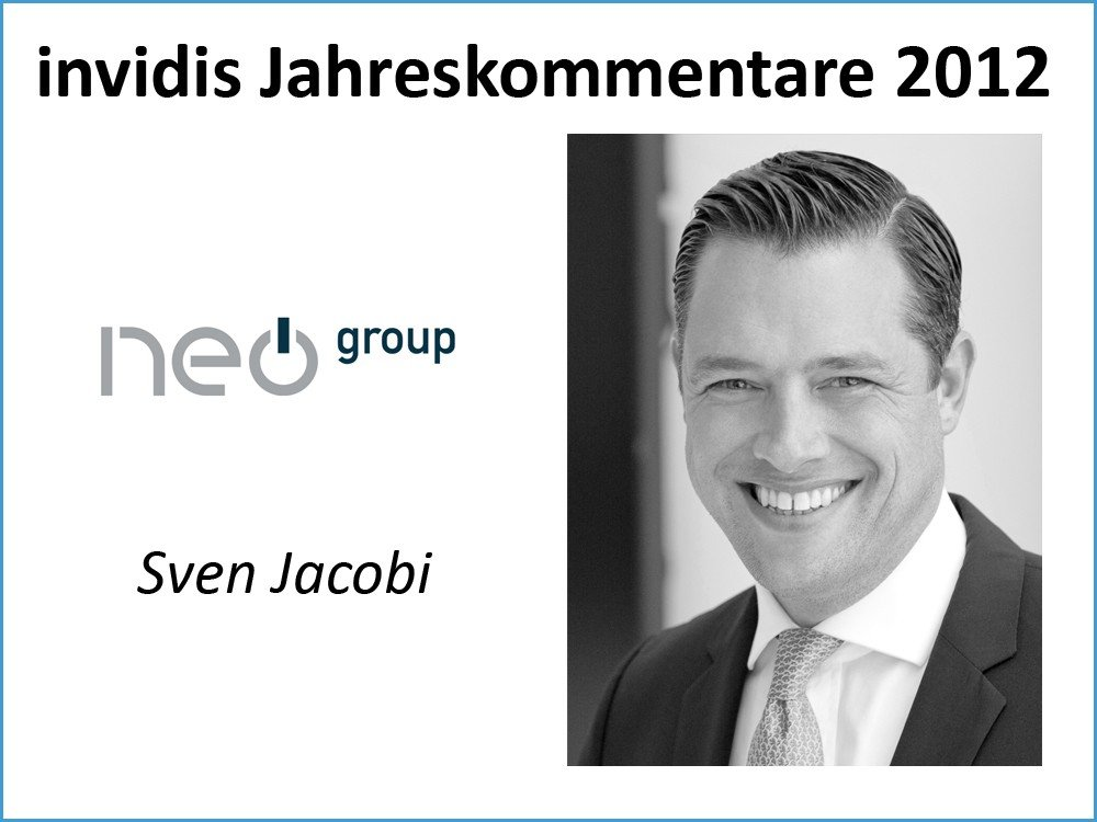 Sven C. Jacobi, Managing Partner, Neo Group