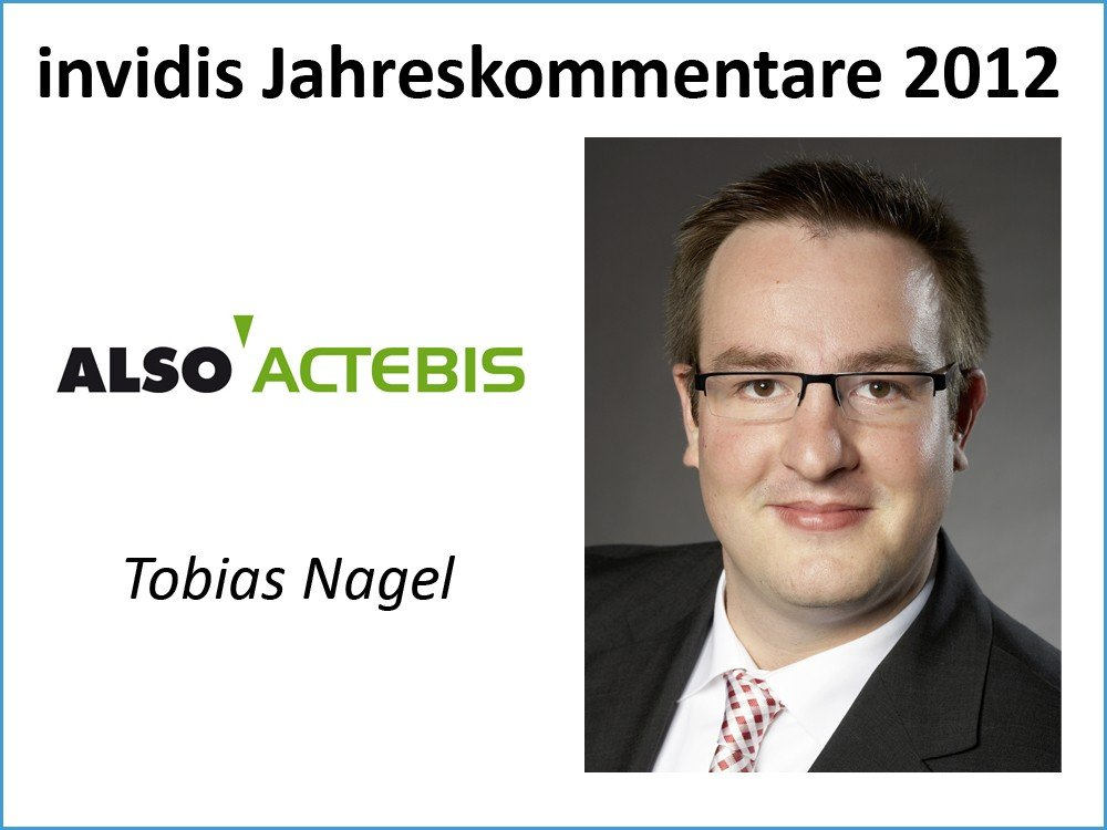 Tobias Nagel, Head of Business Unit Visuals, ALSO Actebis