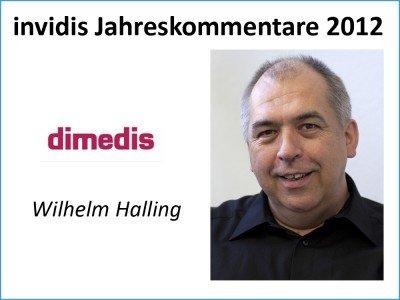 Wilhelm Halling, Geschäftsführer, dimedis GmbH