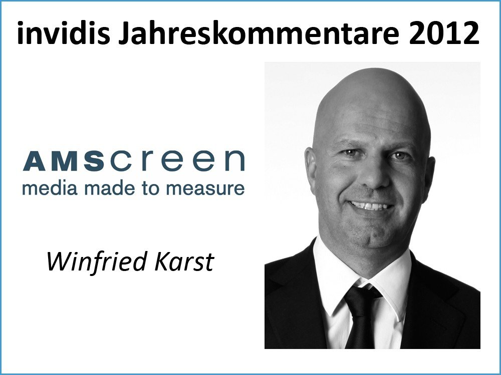 Winfried Karst, CEO Central Eastern Europe, AMScreen