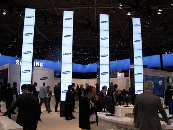 Samsung-Stand auf der ISE 2011