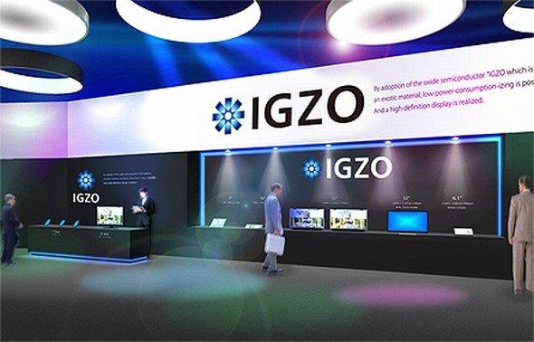 Mit IGZO will Sharp ins Geschäft kommen - wohl auch mit Apple (Foto: Sharp)