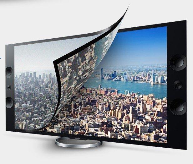 Sony XBR-55X900A - der 55-Zöller ist eines der drei Consumer-Displays in 4K-Auflösung, die aktuell angeboten werden (Foto: Sony)