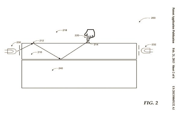 Microsoft Touch Patent (Quelle: Microsoft/US Patent Office)