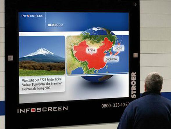Ströers Infoscreen-Netz bekommt Zuwachs an der Ruhr (Foto: Ströer)
