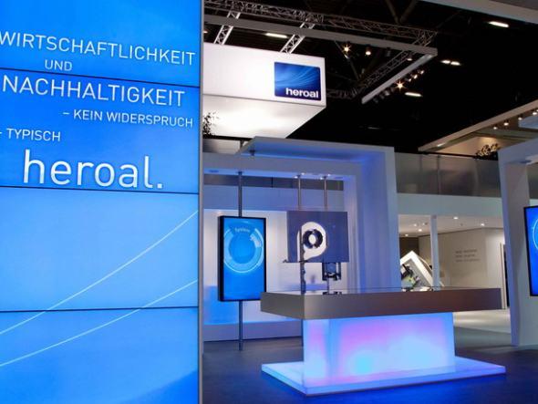 Auf der BAU 2013 stellte Hersteller heroal seine Produkte vor (Foto: LK-AG)