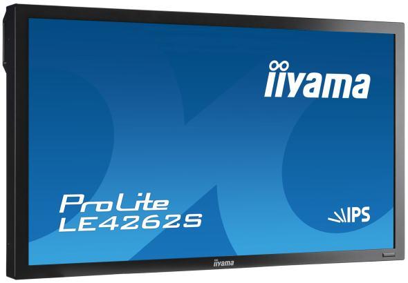 Das robuste LE4262S ist eines der Displays, die iiyama zur CeBIT mitbringt (Foto: iiyama)