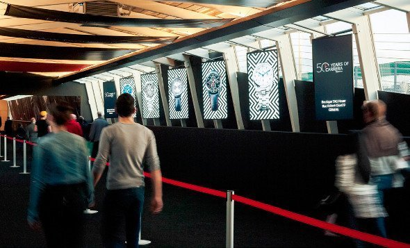 Neo Advertising und TAG Heuer verwandelten Messe Genf