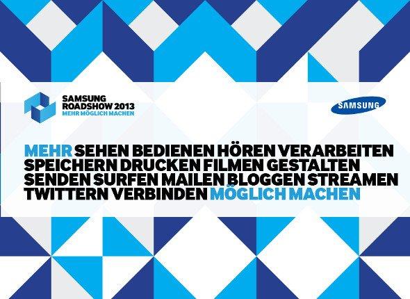 2013 Samsung Roadshow