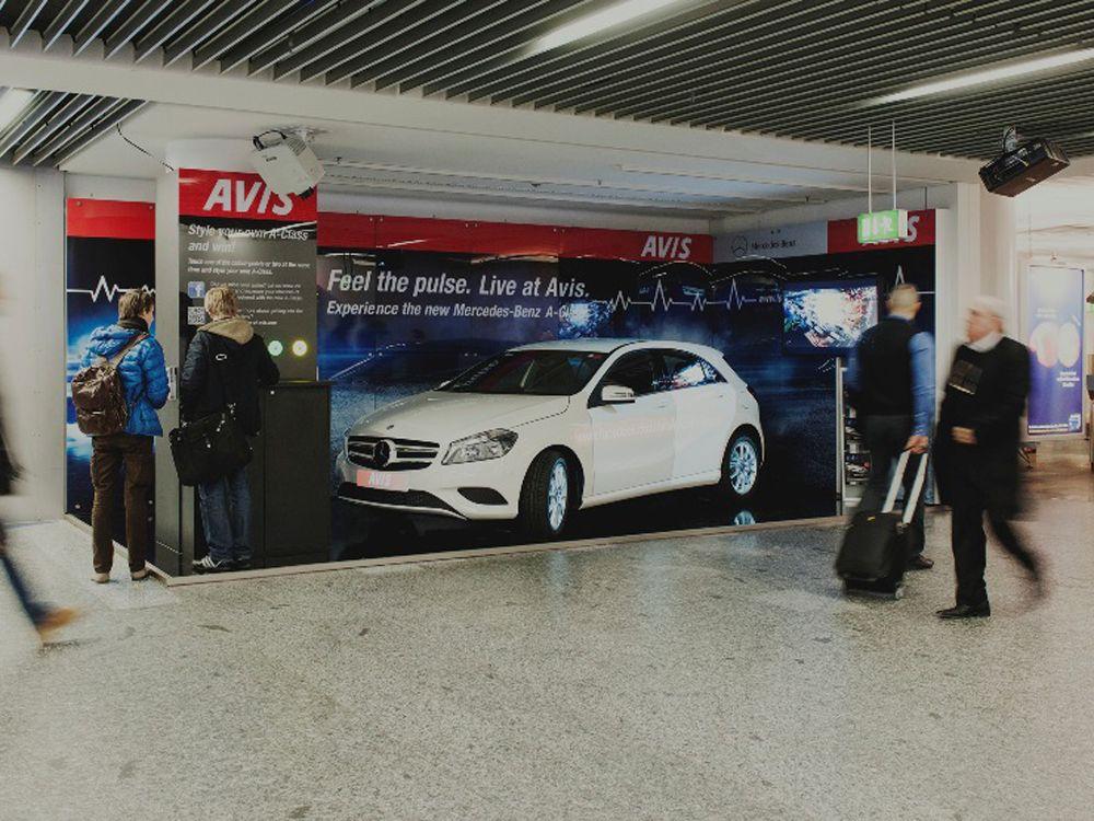 Die Airport Media Award Gewinner im Januar: Avis und Mercedes