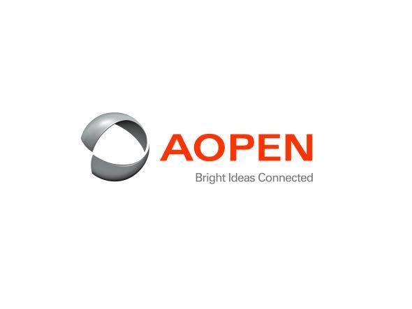 AOPEN: Neues Logo samt Claim (Foto: AOPEN)